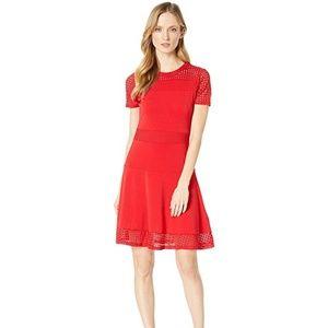 MICHAEL KORS Mesh Comb Dress